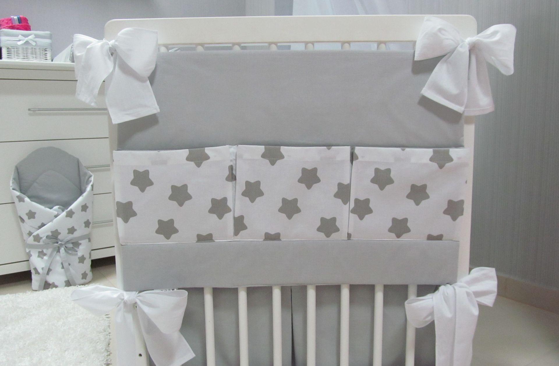 Przybornik na łóżeczko STARS 1