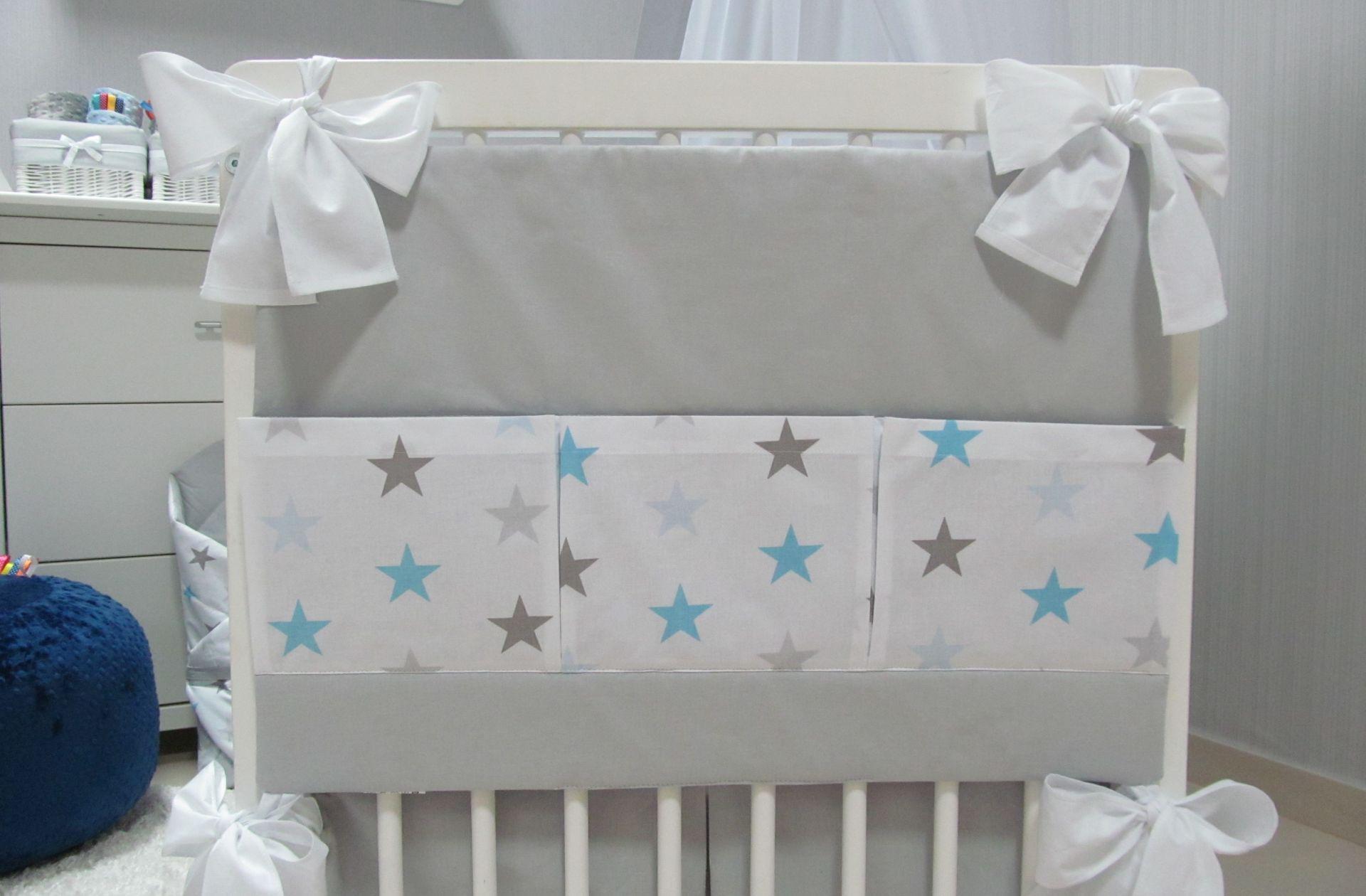 Przybornik na łóżeczko STARS 3